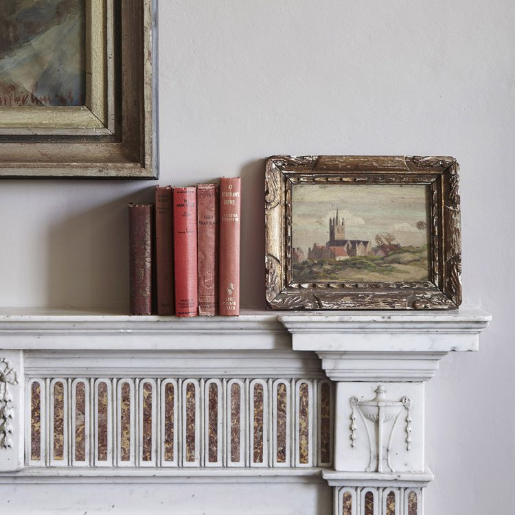 Finer detail at Goodnestone Park. Interior design & styling by Rowan Plowden Design.