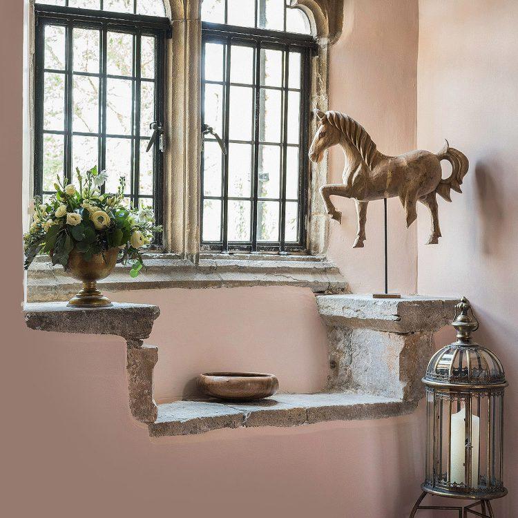 Window detail at Battel Hall. Interior design & styling by Rowan Plowden Design.